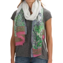 prAna Henna Scarf (For Women) in Peacock Eye - Closeouts