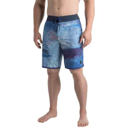 prAna High Seas Boardshorts - UPF 50+ (For Men) in Dusky Skies Elliot - Closeouts