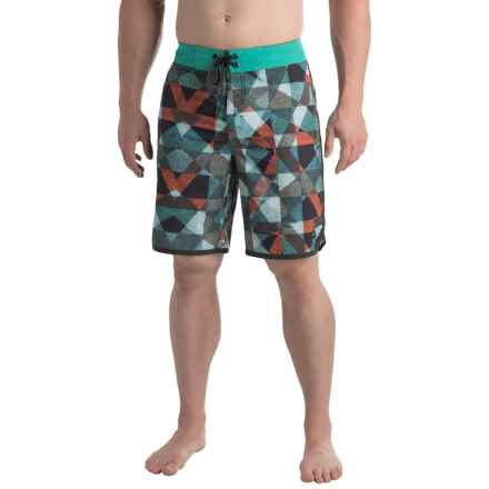 prAna High Seas Boardshorts - UPF 50+ (For Men) in Spruce Dune - Closeouts