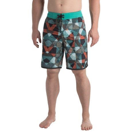 prAna High Seas Boardshorts - UPF 50+ (For Men) in Spruce Dune