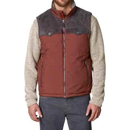 prAna Hoffman Vest - Insulated (For Men) in Raisin - Closeouts