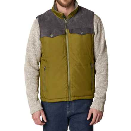 prAna Hoffman Vest - Insulated (For Men) in Saguaro - Closeouts