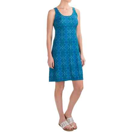 prAna Holly Dress - Sleeveless (For Women) in Bluebell Charmer - Closeouts