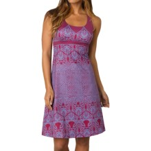 prAna Holly Dress - Sleeveless (For Women) in Plum Red - Closeouts