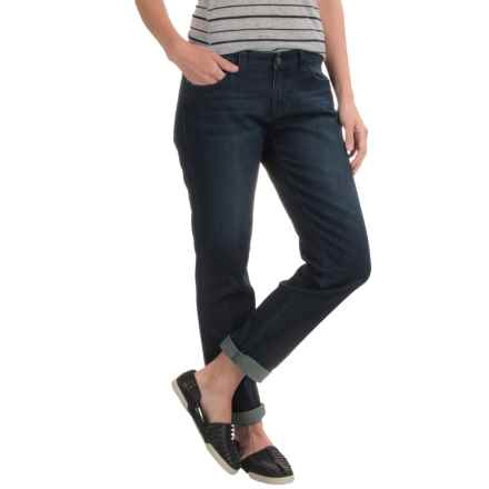 prAna Honour Relaxed Fit Jeans - Organic Cotton, Mid Rise (For Women) in Dark Indigo - Closeouts