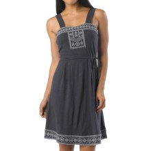prAna Indie Dress - Organic Cotton, Sleeveless (For Women) in Coal - Closeouts