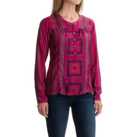 prAna Inka Shirt - Modal, Long Sleeve (For Women) in Vivid Viola - Closeouts