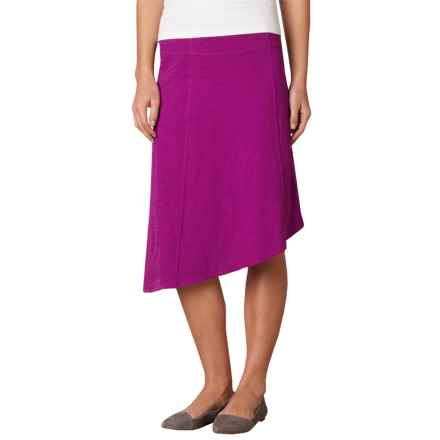 prAna Jacinta Skirt - Organic Cotton (For Women) in Rich Fuchsia - Closeouts