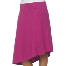 prAna Jacinta Skirt - Organic Cotton (For Women) in Vivid Viola - Closeouts
