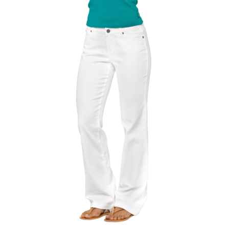 prAna Jada Jeans - Organic Cotton, Mid Rise (For Women) in White - Closeouts