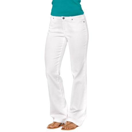prAna Jada Jeans - Organic Cotton, Mid Rise (For Women) in White