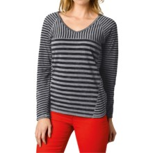 prAna Jaime Shirt - Long Sleeve (For Women) in Black - Closeouts