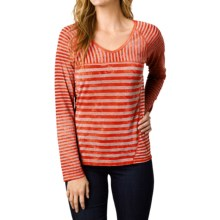 prAna Jaime Shirt - Long Sleeve (For Women) in Spice - Closeouts