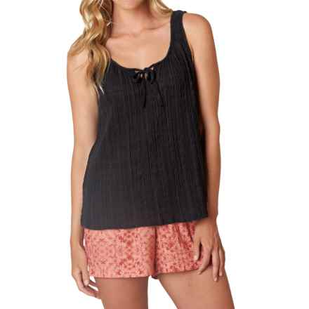 prAna Jardin Tank Top - Organic Cotton (For Women) in Black - Closeouts