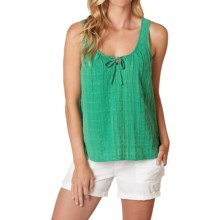 prAna Jardin Tank Top - Organic Cotton (For Women) in Dusty Pine - Closeouts