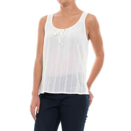 prAna Jardin Tank Top - Organic Cotton (For Women) in White - Closeouts