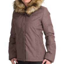 prAna Jasmine Down Jacket - 650 Fill Power (For Women) in Mahogany - Closeouts