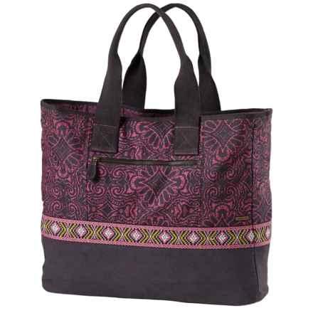 prAna Jazmina Tote Bag (For Women) in Grapevine - Closeouts