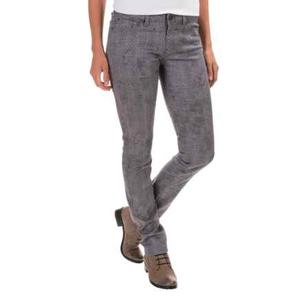 prAna Jeans - Organic Cotton, Low Rise (For Women) in Moonrock Petal - Closeouts
