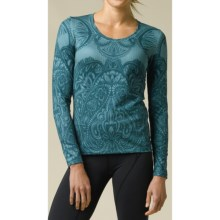 prAna Jessie Shirt - Long Sleeve (For Women) in Mystic - Closeouts
