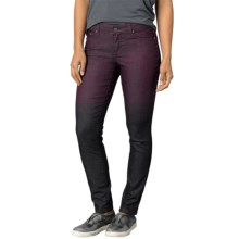 prAna Jett Skinny Pants - Organic Cotton, Low Rise (For Women) in Black Plum - Closeouts