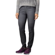 prAna Jett Skinny Pants - Organic Cotton, Low Rise (For Women) in Coal - Closeouts
