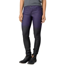 prAna Jett Skinny Pants - Organic Cotton, Low Rise (For Women) in Indigo - Closeouts
