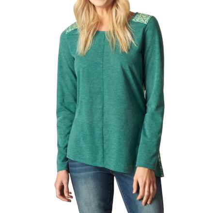 prAna Jivani Shirt - Long Sleeve (For Women) in Harbor Blue - Closeouts