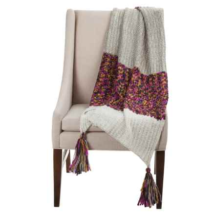 prAna Joely Sweater Throw Blanket in Multi - Closeouts