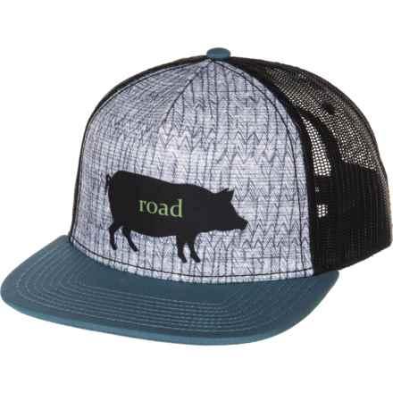 prAna Journeyman Trucker Hat (For Women) in Road Hog - Closeouts feb41f955ada