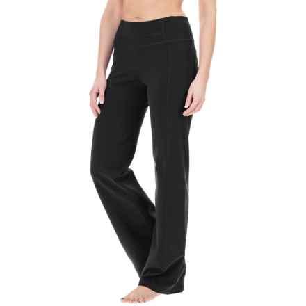 prAna Julia Yoga Pants - Stretch Nylon (For Women) in Black - Closeouts