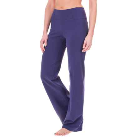 prAna Julia Yoga Pants - Stretch Nylon (For Women) in Indigo - Closeouts