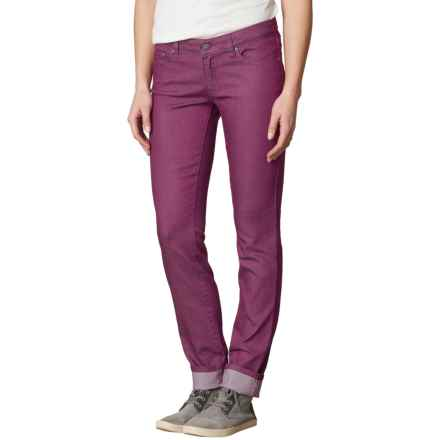 prAna Kara Jeans - Organic Cotton, Low Rise (For Women) in Grapevine - Closeouts