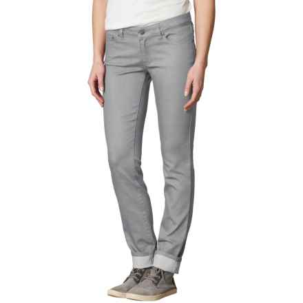prAna Kara Jeans - Organic Cotton, Low Rise (For Women) in Silver - Closeouts