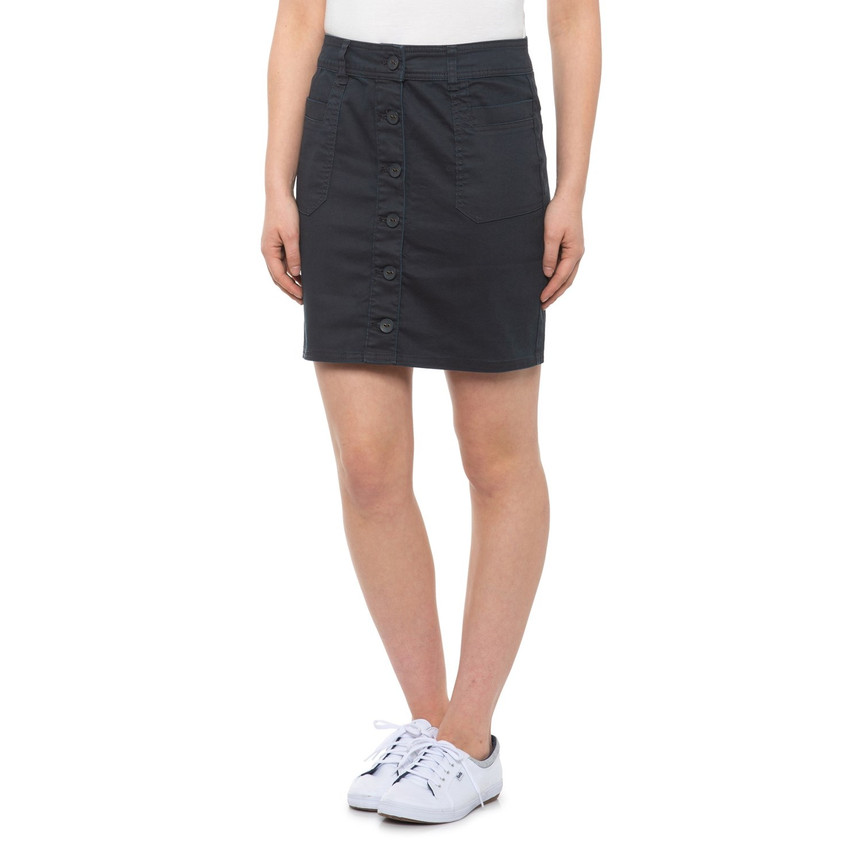 White Sierra Womens Stretch Skirt