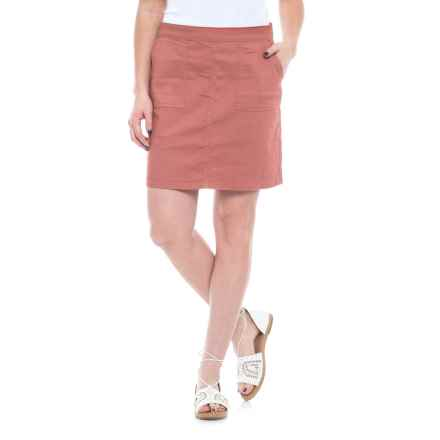 prAna Kara Skirt - Organic Cotton (For Women) in Lacquered Rose - Closeouts