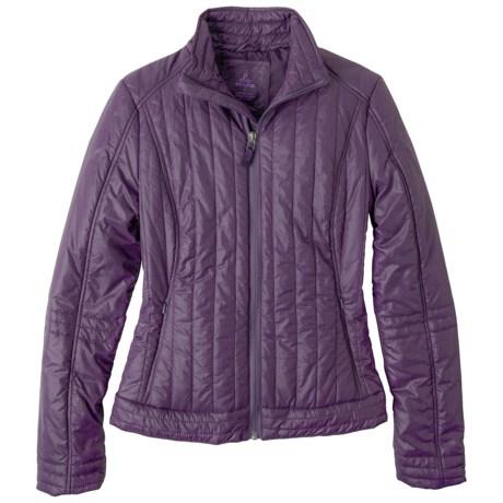 prAna Kasi Jacket - Insulated (For Women) in Plum