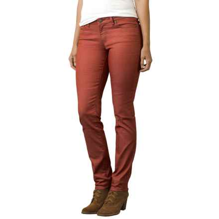 prAna Kayla Jeans - Organic Cotton, Mid Rise (For Women) in Picante Dots - Closeouts