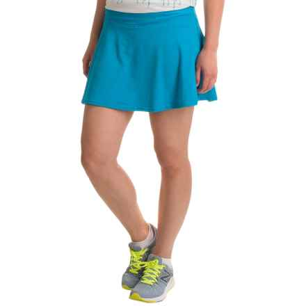 prAna Keely Skort (For Women) in Electro Blue - Closeouts