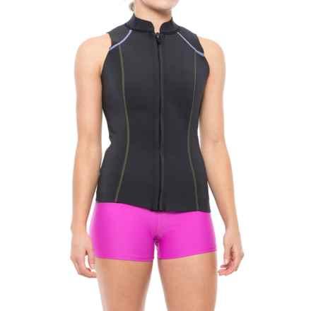 prAna Kelis Vest - UPF 50+ (For Women) in Solid Black - Closeouts