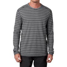 prAna Keller Shirt - Organic Cotton, Long Sleeve (For Men) in Black - Closeouts