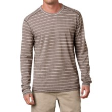 prAna Keller Shirt - Organic Cotton, Long Sleeve (For Men) in Khaki - Closeouts