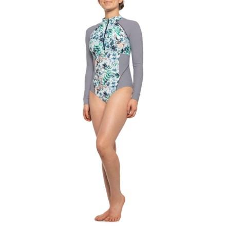 28b9ce85eb5cd prAna Kesa One-Piece Swimsuit - UPF 50+, Long Sleeve (For Women