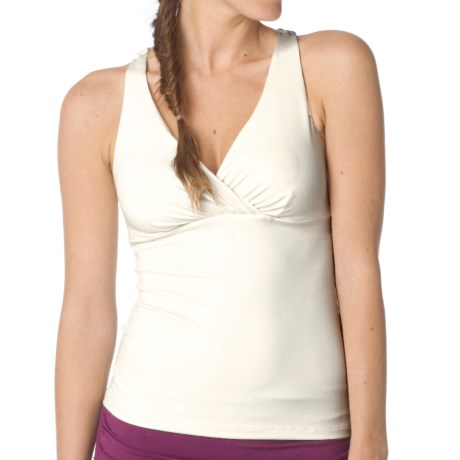 prAna Kira Tank Top - Built-In Shelf Bra (For Women) in Winter
