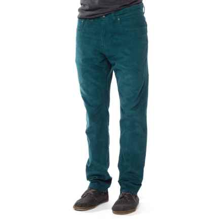 prAna Kravitz Corduroy Pants - Organic Cotton (For Men) in Deep Balsam - Closeouts