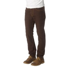 prAna Kravitz Corduroy Pants - Organic Cotton (For Men) in Espresso - Closeouts