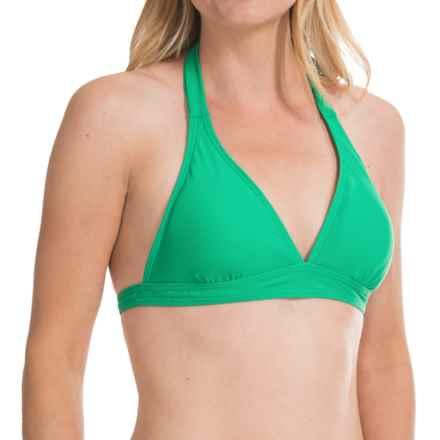 prAna Lahari BikiniTop - UPF 30+, Halter (For Women) in Cool Green - Closeouts