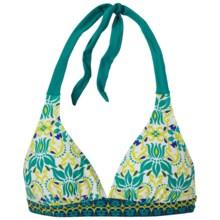 prAna Lahari BikiniTop - UPF 30+, Halter (For Women) in Dragonfly Lotus - Closeouts