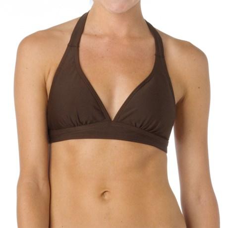 prAna Lahari BikiniTop - UPF 30+, Halter (For Women) in Espresso