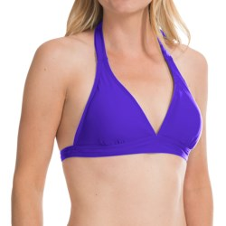 prAna Lahari BikiniTop - UPF 30+, Halter (For Women) in Sail Blue